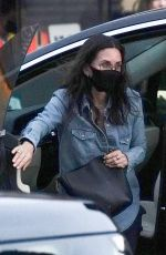 COURTENEY COX Arrives at Nobu in Malibu 06/30/2020