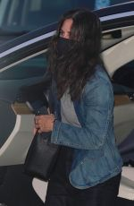 COURTENEY COX Out for Dinner at Nobu in Malibu 07/29/2020