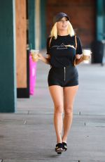 COURTNEY STODDEN in Tight Shorts Out in Hollywood 06/18/2020