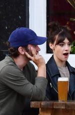 DAISY EDGAR JONES and Tom Varey Out in London 07/06/2020
