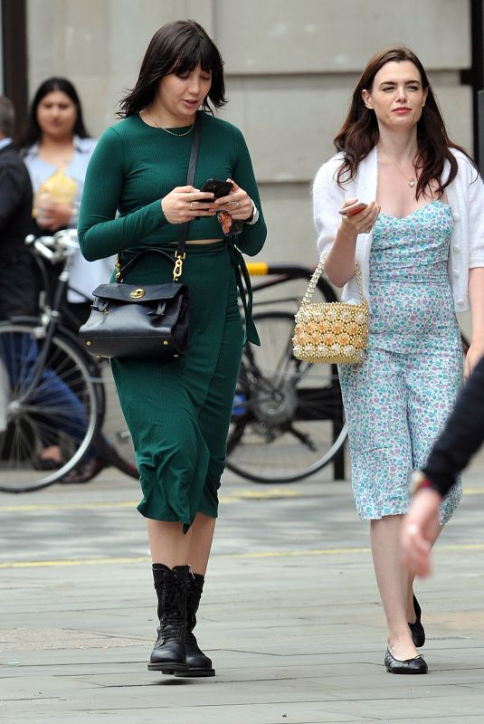 DAISY LOWE and CHARLI HOWARD Out Shopping in London 07/07/2020