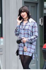 DAISY LOWE Shows  a New Engagement Ring Out in LOndon 07/11/2020