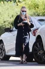 DAKOTA FANNING Arrives at Her New Home in Los Angeles 07/01/2020