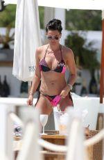 DANIELLE LLOYD in Bikini at a Beach in Spain 07/24/2020