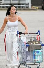 DANIELLE LLOYD Out Shopping in Birmingham 07/21/2020