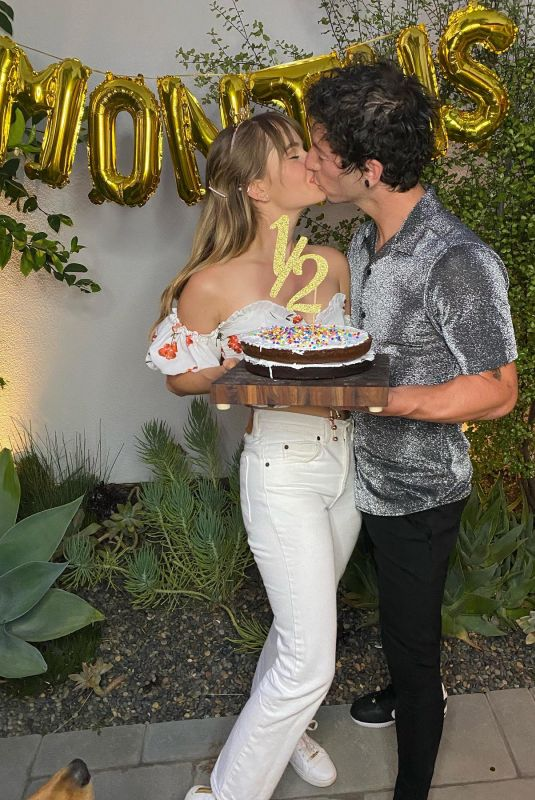 DEBBY RYAN and Josh Dun Celebrated 6 Months of Marriage – Imstagram Photos 07/06/2020