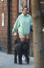 DELILAH HAMLIN and Eyal Booker Out with Their Dog in London 06/29/2020