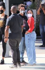 DEMI LOVATO and Max Ehrich Out Shopping on Rodeo Drive in Beverly Hills 07/27/2020