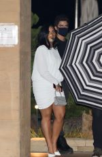 DEMI LOVATO Leaves Nobu in Malibu 07/22/2020
