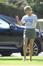 DIANE KRUGER Out and About in Beverly Hills 07/09/2020