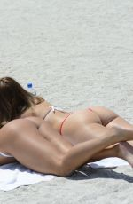 DONNA BELLA and CARMEN VALENTINA in Bikinis at a Beach in Clearwater 07/01/2020