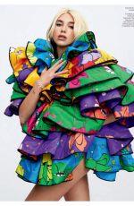 DUA LIPA in Elle Magazine, Canada Summer 2020