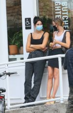 DUA LIPA Out for Lunch at Butcher