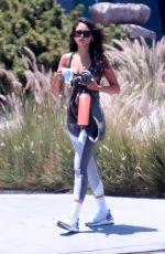 EIZA GONZALEZ Heading to a Gym in Los Feliz 07/09/2020
