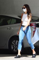 EIZA GONZALEZ in Denim Leaves a Medical Center in Beverly Hills 07/07/2020