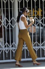 EIZA GONZALEZ Out for Iced Coffee in Los Angeles 07/24/2020