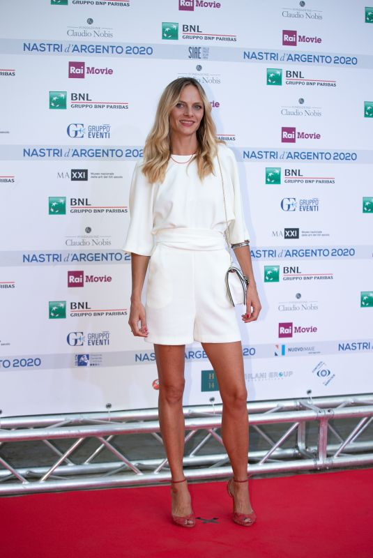 ELETTRA DALLIMORE MALLABY at Nastri D'Argento Awards in Rome 07/06/2020
