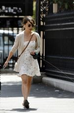 EMILIA CLARKE Out and About in London 07/15/2020