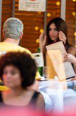 EMILY RATAJKOWSKI Out for Dinner in New York 07/24/2020