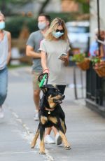 EMILY RATAJKOWSKI Out with Colombo in New Yrok 06/30/2020