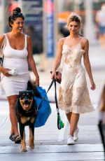 EMILY RATAJKOWSKI Out with Her Dog Colombo in New York 07/14/2020