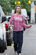 EMMA RIGBY Out and About in London 07/17/2020