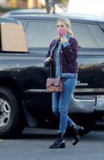 EMMA ROBERTS Out in Los Angeles 07/23/2020
