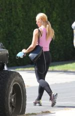 EMMA SLATER Leaves a Gym in Los Angeles 07/03/2020