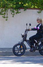EMMA SLATER Outfor a Bike Ride in Studio City 07/27/2020