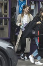 EMMA WATSON Out Shopping at Tallulah Lingerie in London 07/09/2020