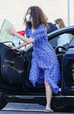 EMMY ROSSUM Wearing a Mask Out in Beverly Hills 07/21/2020