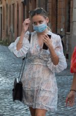 ESTER EXPOSITO Out and About in Rome 07/06/2020