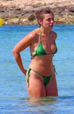 FRANCESCA ALLEN, GEORGIA STEEL and ELMA PAZAR in Bikinis at a Beach 07/07/2020