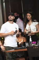 FRANCESCA FARAGO and Vinny Guadagnino Out for Dinner in New York 07/13/2020