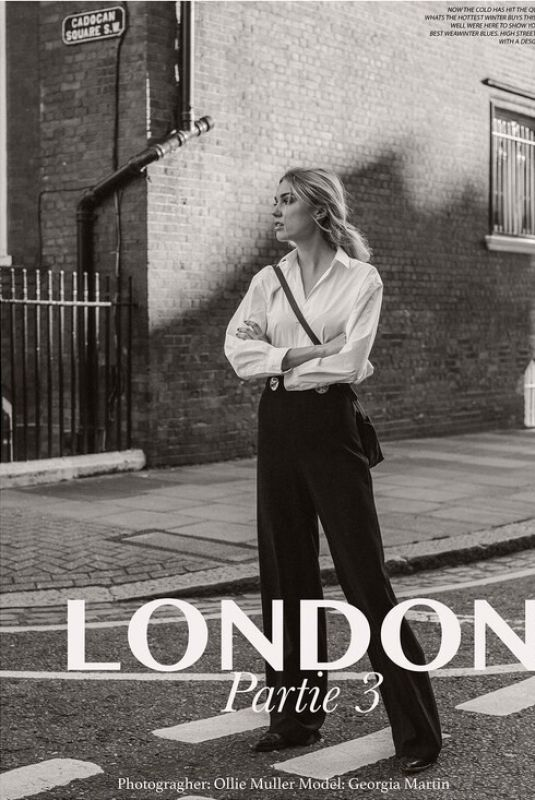 GEORGIA GRACE MARTIN for London Partyie 3 By Olli Muller 2020