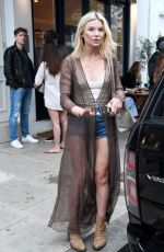 GEORGIA TOFFOLO Out in Chelsea 07/04/2020
