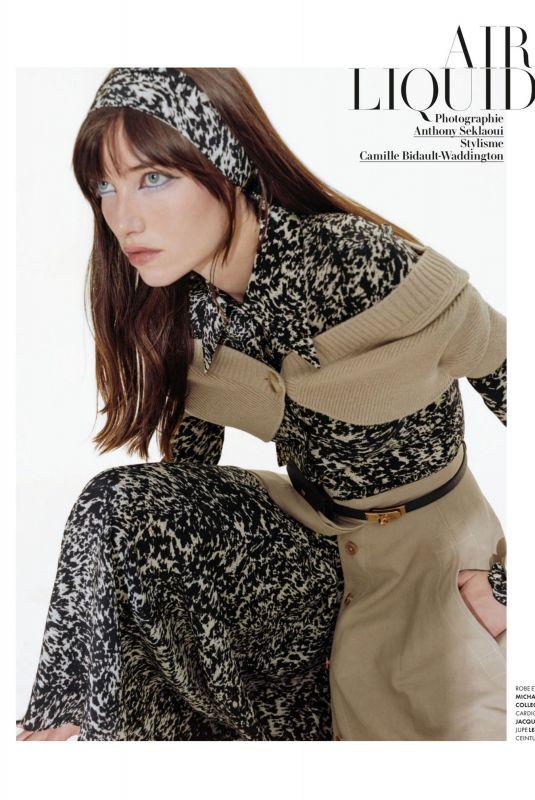 GRACE HARTZEL in Vanity Fair Magazine, France August 2020