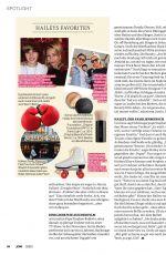 HAILEY BIEBER in Jolie Magazine, Germany August 2020