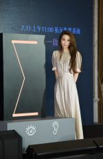 HEBE TIEN at a Press Conference for Coming Live Concert Tour Promotion in Taipei 07/01/2020