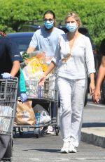 HEIDI KLUM and Tom Kaulitz Out Shopping in Los Angeles 07/07/2020