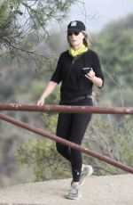 HELEN HUNT Out Hiking in Brentwood 07/01/2020