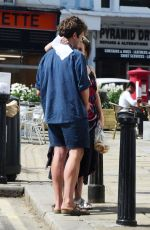 HELENA BONHAM CARTER and Rye Dag Holmboe Out in London 07/23/2020