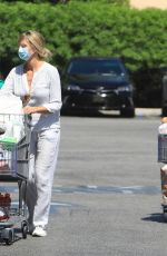 HELENE BOSHOVEN SAMUEL Out Shopping in Los Angeles 07/07/2020