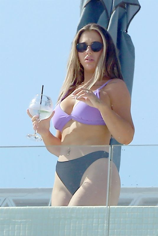 HOLLY HAGAN Out in Ibiza 07/10/2020