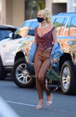 IGGY AZALEA Out and About in Beverly Hills 07/22/2020