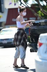 IRELAND BALDWIN Out Shoppinh in Los Angeles 07/01/2020