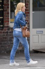 JANE DANSON in Double Denim Out in Cheshire 06/30/2020