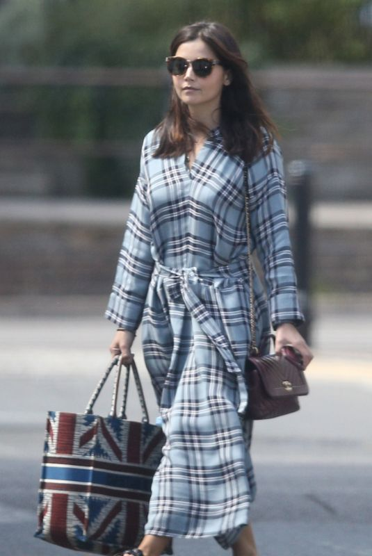 JENNA LOUISE COLEMAN Out in London 07/20/2020