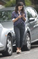 JENNA LOUISE COLEMAN Out Shopping in London 07/10/2020