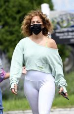JENNIFER LOPEZ Out in Water Mill in New York 07/22/2020